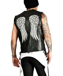 USA Jacket - The Walking Dead Daryl Dixon Angel Wing Vest