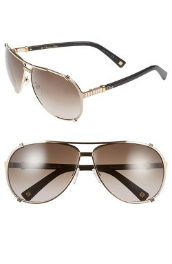 f99f5b5e631 Dior Chicago Metal Aviator Sunglasses With Crystals