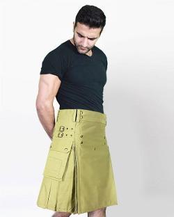 Scottsih Kilt - Cargo Kilt For Active Men