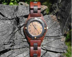 Jord - https://www.woodwatches.com/series/frankie/dark-sandalwood-and-smoke
