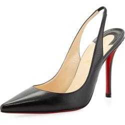 Christian Louboutin  - Apostrophe Red-Sole Slingback