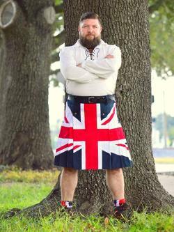 scottish kilt - Patriotic Union Flag Kilt