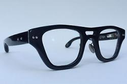 Bird & Cage - hand made buffalo horn eyeglasses
