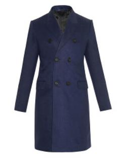 Burberry - Prorsum Double-Breasted Linen Coat