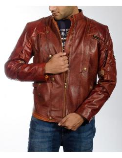The Jacket Maker - Mars Maroon Leather Jacket