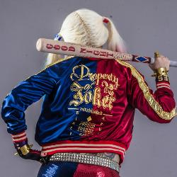 SandyBoutiqueCosplay - Harley Quinn Suicide Squad Embroidered Custom Made Jacket