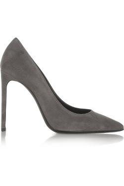Saint Laurent - Paris suede pumps
