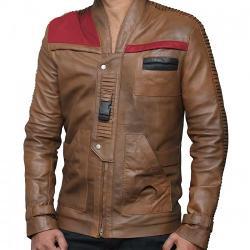 Celebsclothing - Star Wars Distressed Brown Finn  Jacket