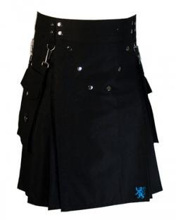 Scottish Kilt - Detachable Pockets Kilt for Running Man