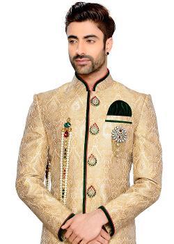 Panash India - PanashIndia - Indowestern Sherwani With Breeches