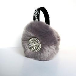 April Delouvre - Grey earmuffs