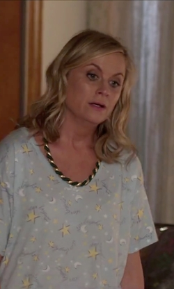 amy poehler with art fire russian spiral necklace in sisters. Black Bedroom Furniture Sets. Home Design Ideas