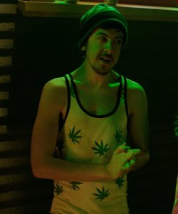 Christopher Mintz-Plasse Urban Outfitters LATHC Leaf Tank ...
