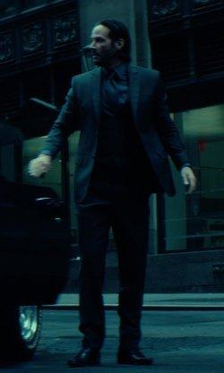 Carl Black Chevrolet >> Keanu Reeves with Ecco Faro Oxford Shoes in John Wick