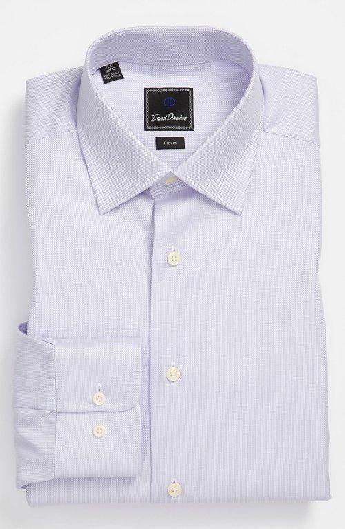 Mark Ruffalo David Donahue Trim Fit Dress Shirt From Begin