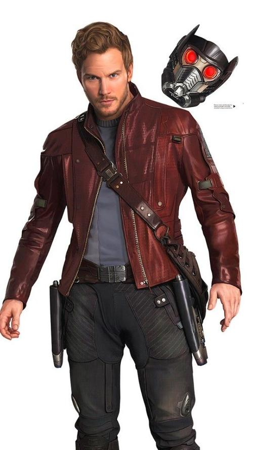 Custom made leather jacket peter quill star lord by alexandra