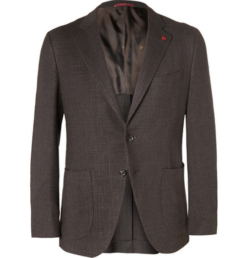 Blazers In Statham: Jason Statham Isaia Slim-Fit Wool Jacket From Spy