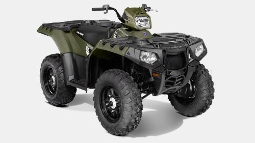 Omar Sy Polaris Sportsman 850 ATV from Jurassic World ...