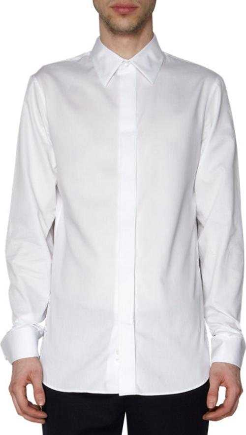 alan rickman ann demeulemeester covered placket french