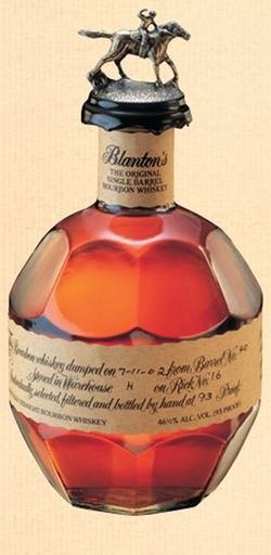 Carl Black Chevrolet >> The Original Single Barrel Bourbon Whiskey by Blanton's in ...