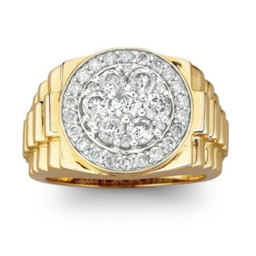 benicio toro jc penney s cluster ring from