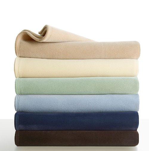 Velvety Soft And Plush Blanket By Vellux Original In Begin